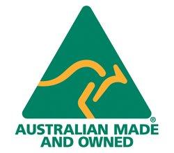 Australian made logo Clearlight designs
