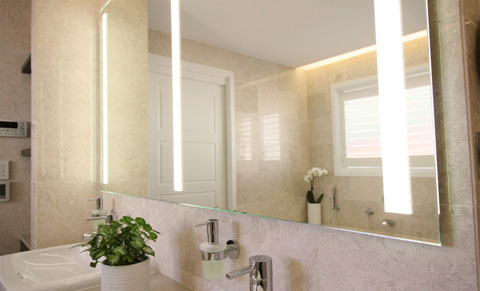 Mirror with lights, Clearlight Designs