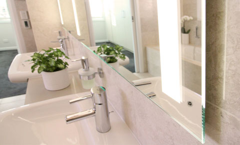 LED light Mirror, Clearlight Designs