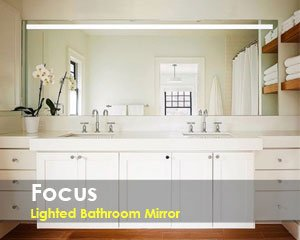Focus Bathroom Lighted Mirror