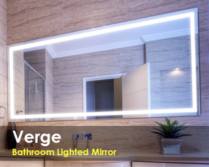 Verge Bathroom LED Mirror