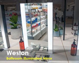 Weston Bathroom Lighted Mirror