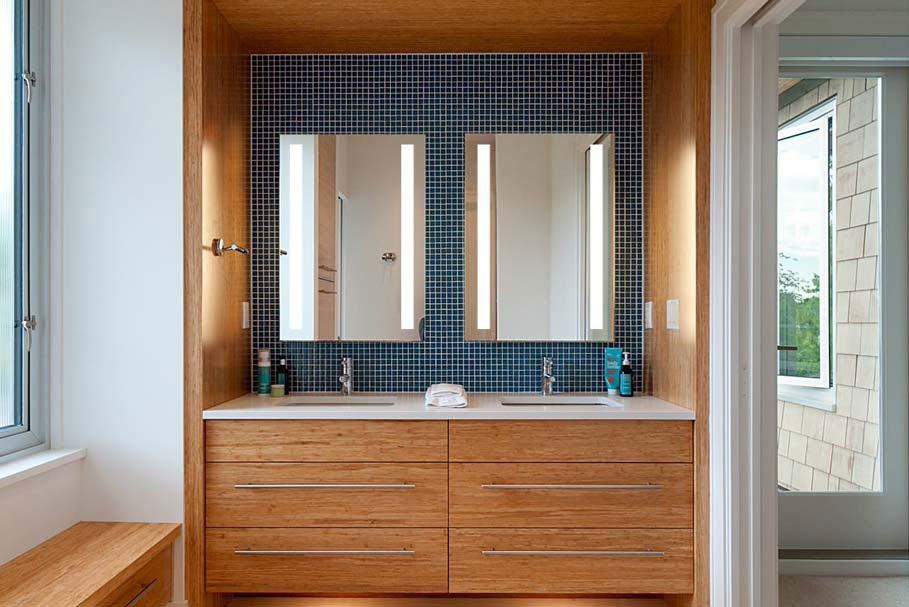 Eleven Bathroom Lighted Mirror Concept