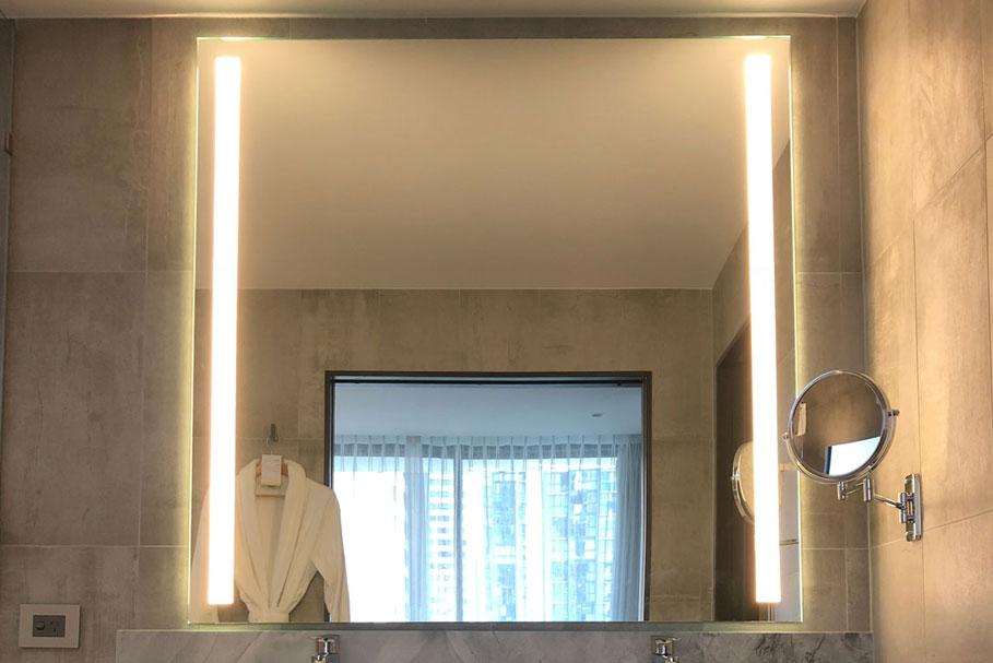 Warm Light LEDs used within this Illuminated Mirror