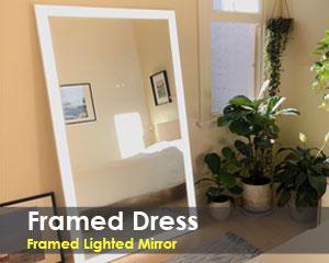 Framed Dress LED Mirror